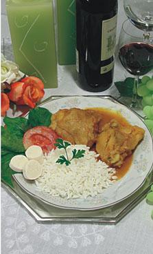 Sobrecoxas de Frango ao Curry