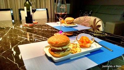 Hambúrguer de Carré Suíno