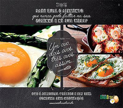 Campanha do Instituto Ovos Brasil destaca a importância do ovo na culinária