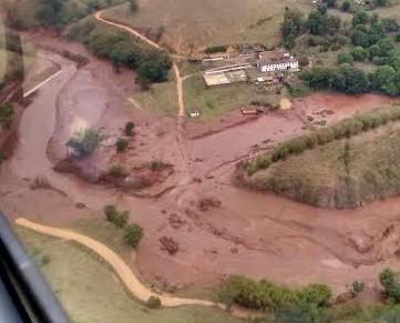 Atividade agropecuária está comprometida em áreas atingidas pela lama em MG, diz Embrapa