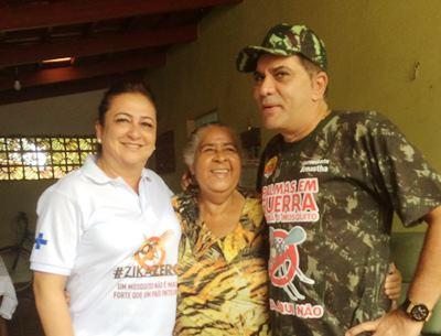 Ministra Kátia Abreu mobiliza sociedade para combater o vírus zika