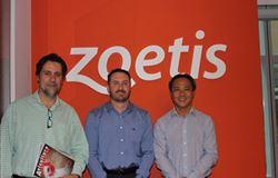 Gessulli Agribusiness visita grupo Zoetis