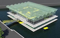 Primeira fazenda flutuante do mundo está sendo construída
