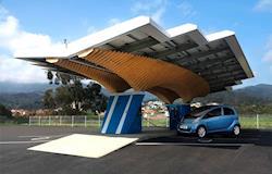 Peugeot elabora posto de abastecimento do futuro para veículos elétricos