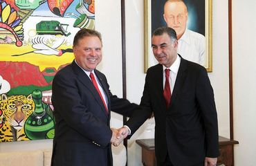 Egito discute ampliação do comércio com Brasil