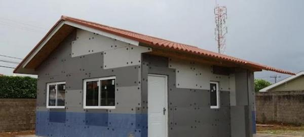 Casa sustentável é 25% mais barata e término da construção é em 6 dias