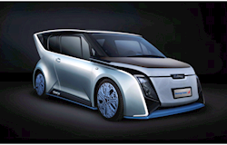 Chineses mostram carros a energia solar