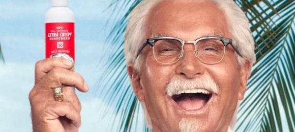 Rede de fast-food lança protetor solar com cheiro de frango frito