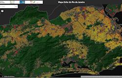 Aplicativo Mapa Solar do Rio de Janeiro mostra potencial de geração fotovoltaica do estado
