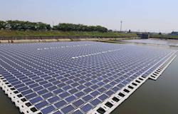 Tecnologia de geração solar flutuante aumenta em 14% a capacidade dos painéis fotovoltaicos