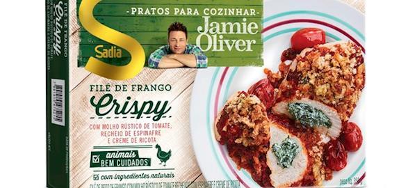 Sadia investe R$ 50 milhões em linha com Jamie Oliver