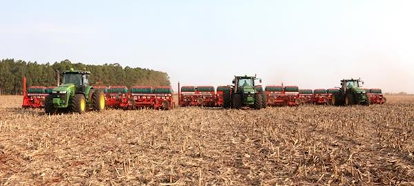 Mesmo com 7,6% de atraso, plantio da soja em MS chega a 45% da área