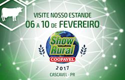 Soluções completas para suínos no Show Rural Coopavel