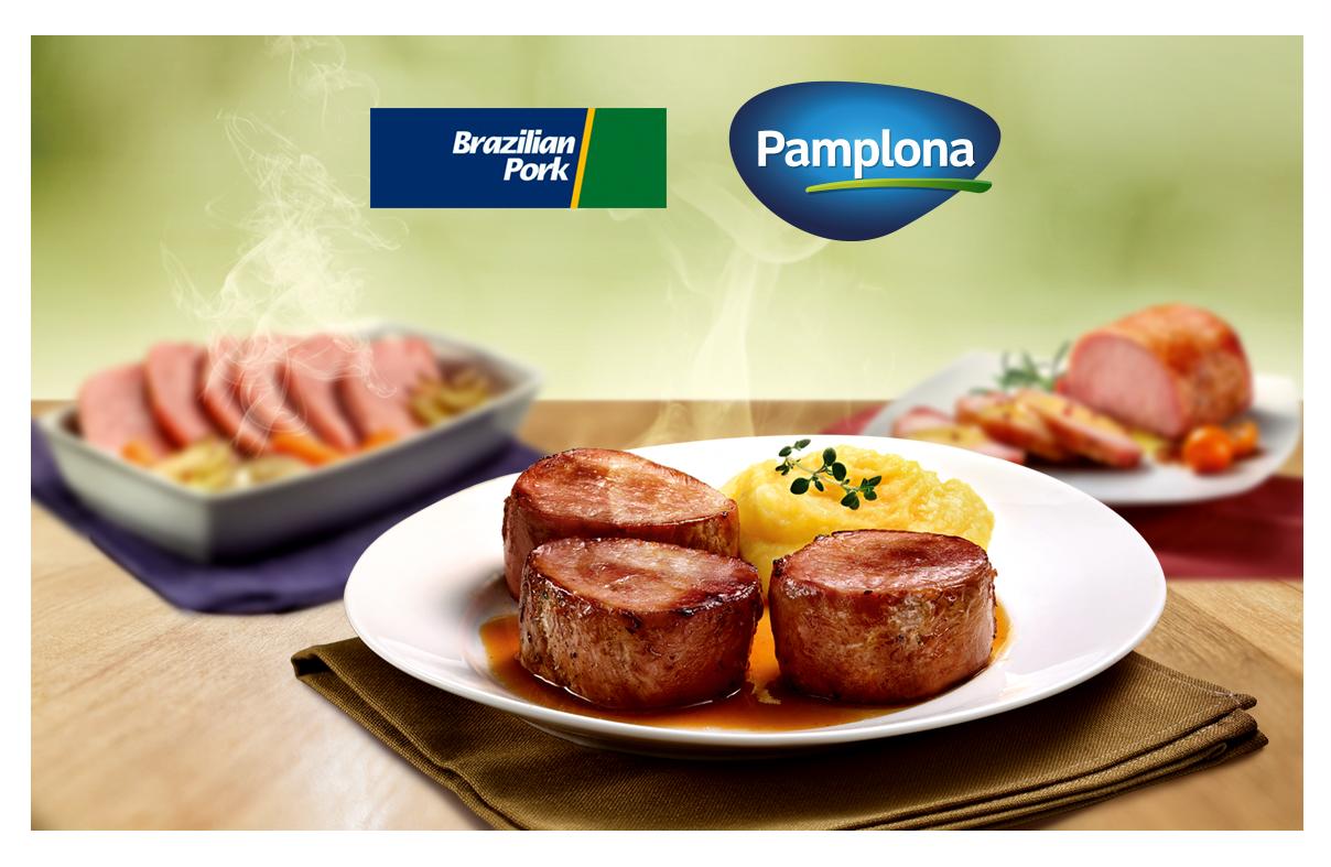 Pamplona Alimentos é primeira empresa do Brasil a utilizar o selo de origem Brazilian Pork
