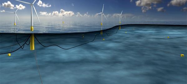Escócia terá a primeira usina eólica offshore flutuante do mundo