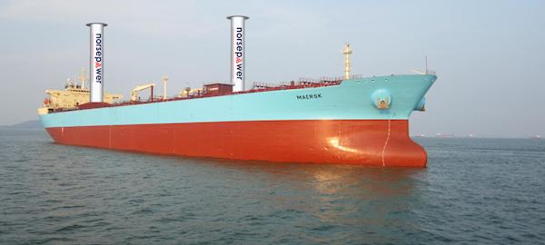 Navios do futuro poderão usar energia eólica