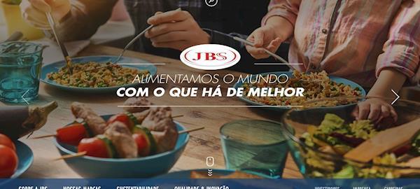 Para democratizar a informação, JBS lança site com destaque para produtos e marcas