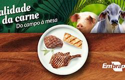 Página sobre contribuições da ciência para qualidade da carne brasileira é lançada