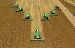 MT,PR, RS e GO concentram quase 70% da produção de grãos do país