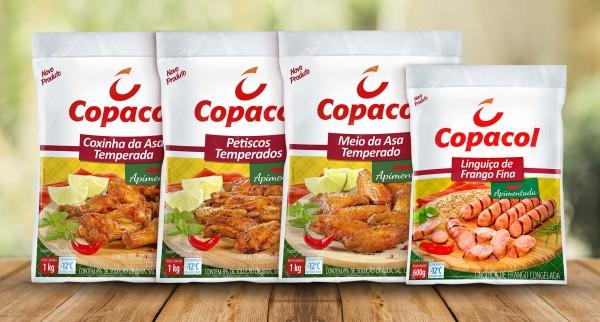 Copacol lança linha  de aperitivos de Frango Apimentados