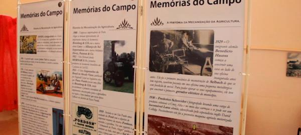 """Exposição """"Mídia no Campo"""" mostra a importância da comunicação para o desenvolvimento do agronegócio"""