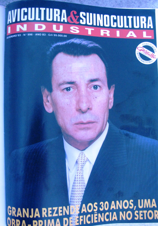 Fundador da Granja Rezende, Alfredo Rezende, falece em Minas Gerais